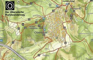 Wanderkarte Obersdorf